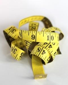 Lean startup measuring tape.