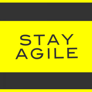 Small business tips on staying agile.
