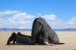 Don't have your head in the sand when email marketing